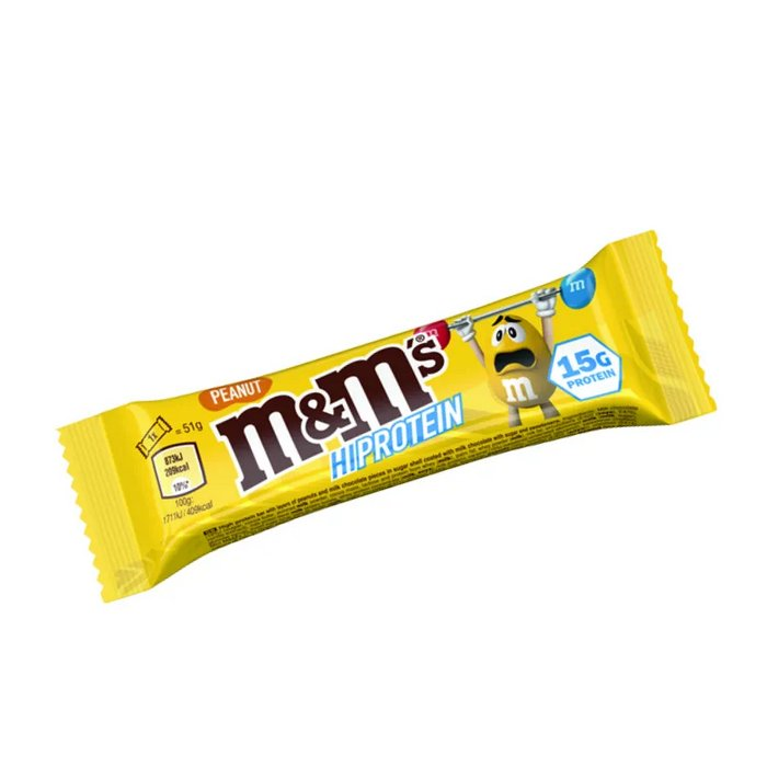 M&M Hi Protein 51g bar
