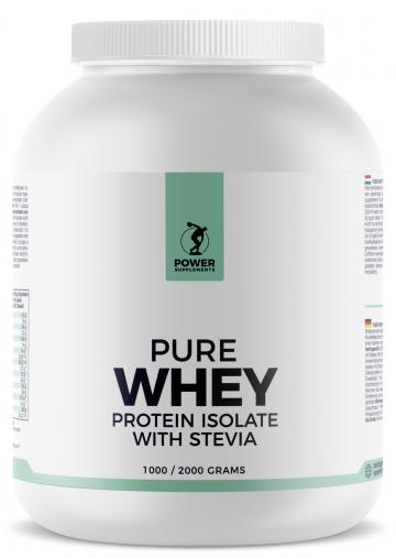 Stevia Whey Protein Isolate 2000g