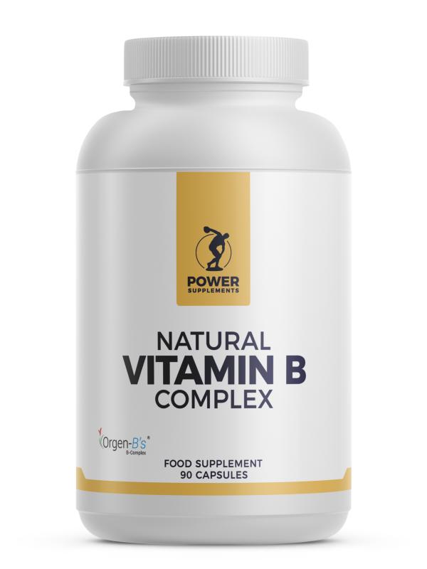 Natural Vitamin B Complex